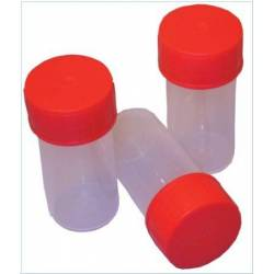 URINE JARS WITH COVER steril \ 60 ml