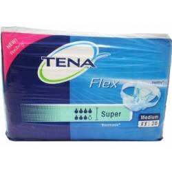 TENA PROSKIN FLEX SUPER MEDIUM (000000)\ 724230 ( 3 x 30 st )