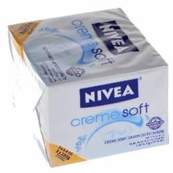 NIVEA CREME SOFT SOAP \ 3 X 100 g