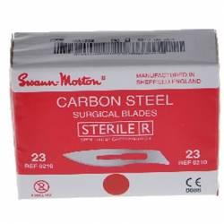 SCALPELS BISTOURI sterile Swann Morton \ Nr 23 (0210)