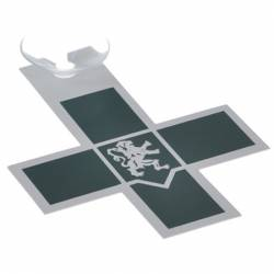 PLEXI PLATE: NURSE - with suction cup