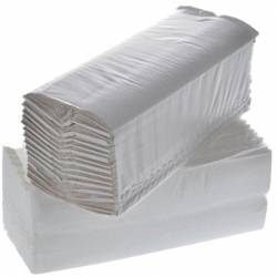 TOWELS IN PAPER 100% recycled paper WHITE \ 25 x 33 cm