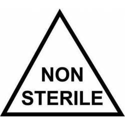 Niet steriel